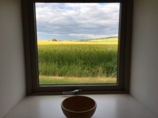 Dairsie kitchen window barley